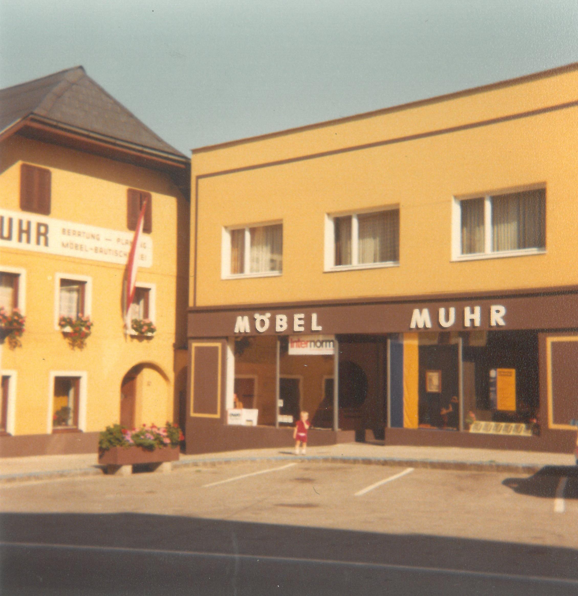 Fassadenansicht 1977