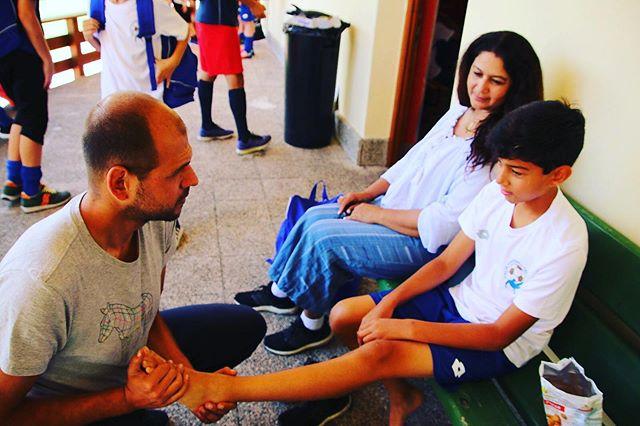"""👨⚕️🆘 Nei #camp di #italiafootballtalent un medico è sempre con noi H24 in campo come in hotel ... un """"Must"""" del nostro progetto❗️⚽️ . #calcio #corvara #cortina #dolomiti #bls"""