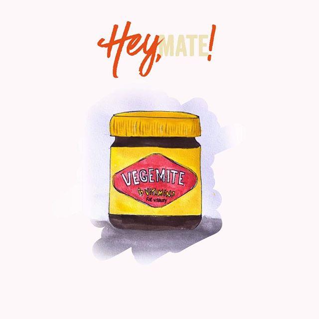 Hope everyone is enjoying the long weekend ☀️ . . #longweekend #wereallfriendshere #familytime #enjoythesunshine #thelittlethings #familyiseverything #brandingdesign #melbourneweather #surfacepatterndesign #cataloguedesign #vegemite #aussiestaple #aussieaussieaussie #australia #melbourne #heymate #gday #australiaday #timeoff #heatwave #love #spreadthelove #creative #design #actcreative #illustration #guache #paint #art #artistsoninstagram