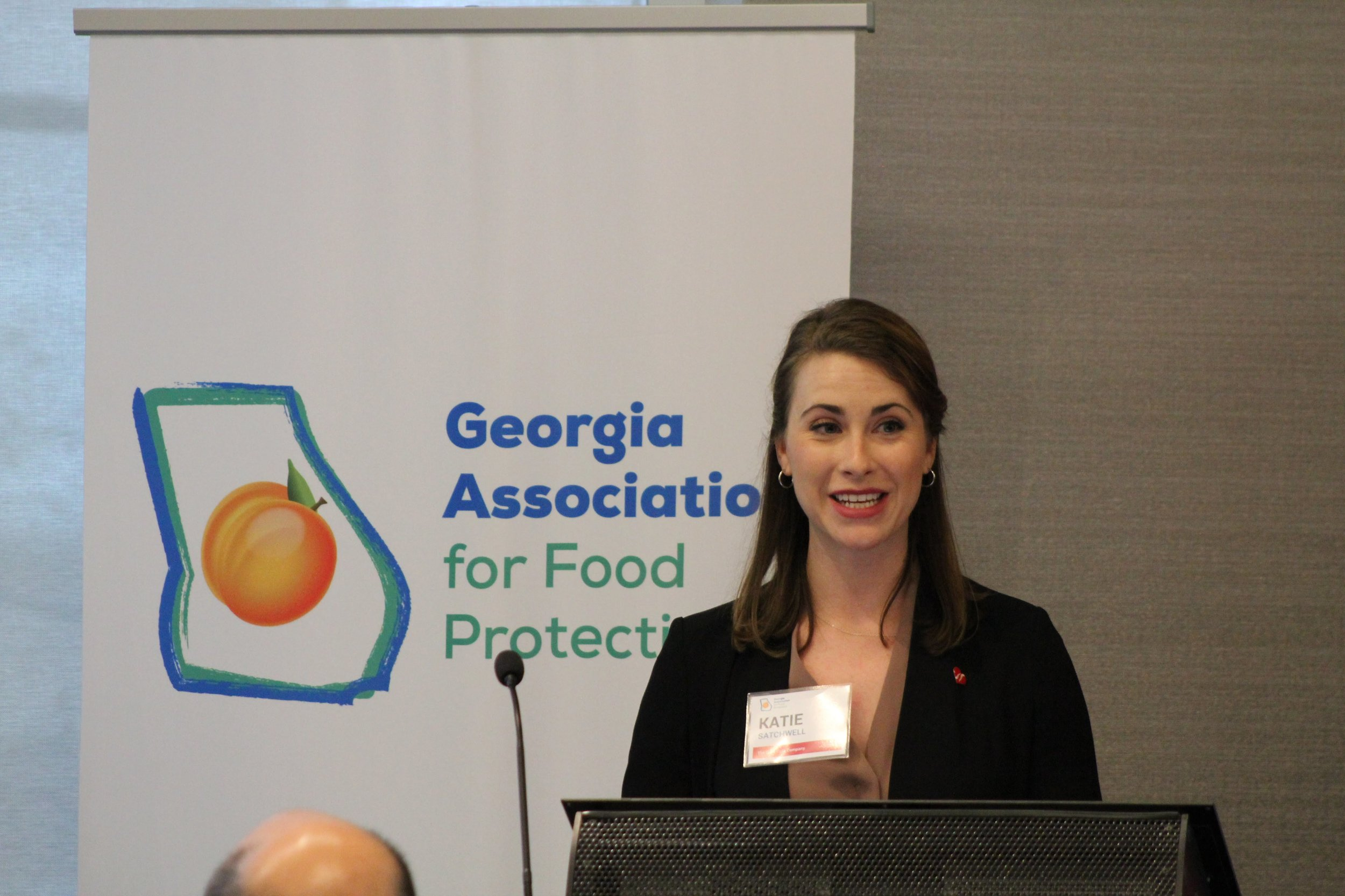 Katie Satchwell, President-Elect - Katie Satchwell (The Coca-Cola Company), is currently the Georgia Association for Food Protection's President-Elect.Contact: ksatchwell@coca-cola.com