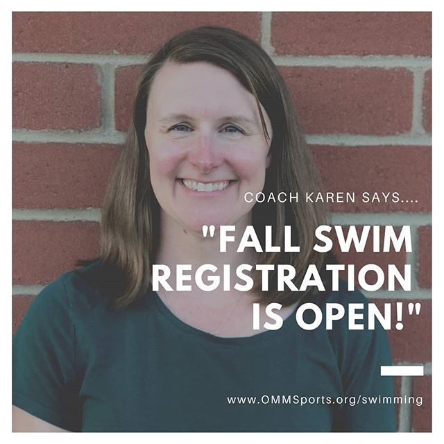 It's time ya'll!! Coach Karen has declared that FALL Swim is now open online! Link in the bio, or just type in www.OMMSports.org/swimming to go to our new site with all the details! . . #ommsports #OMMSwimming #specialneedschild #specialneedskids #specialeducation #optimist #specialneedsparenting #autismmom #autismlife #sports #optimistic #specialneedsmom #autism #autismacceptance #special_shots #autismawareness