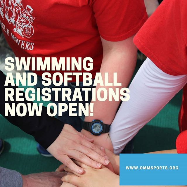 Help us spread the word! Welcoming athletes and buddies for fall swimming and Softball! Registration is now open for both online at www.OMMSports.org.  If you don't have an athlete or can't be a buddy, do us a solid won't you and share this post so we can reach as many amazing kiddos and buddies as possible!  @plainfieldparksandrec @optimistclubofplainfield @dsi_indiana