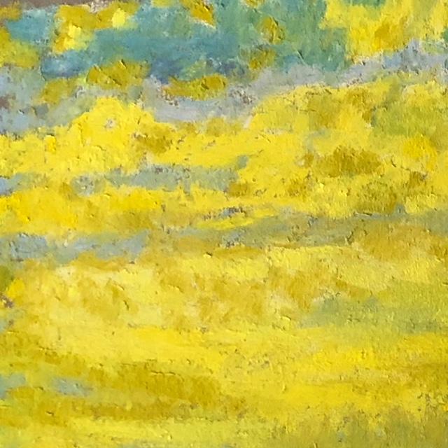 Yellow Torquoise Sky