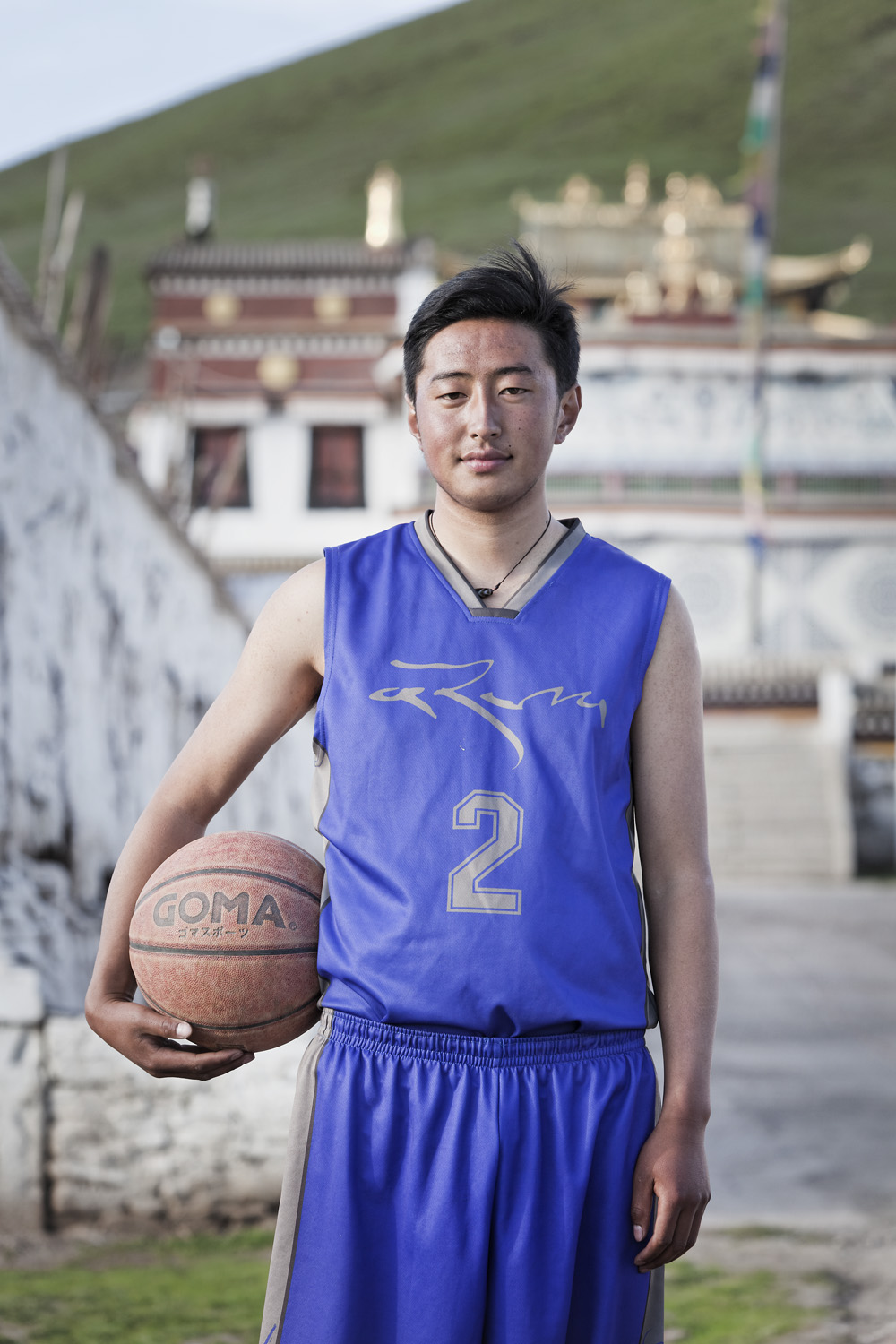 Korchan Jyap འཁོར་ཆེན་སྐྱབས། - Nomad, brother is a basketball-playing monk at local Monastery, from the White Horse clan