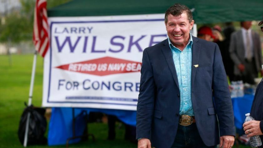 San Diego Union Tribune - Retired Republican Navy SEAL Wilske to run for Hunter's seat.