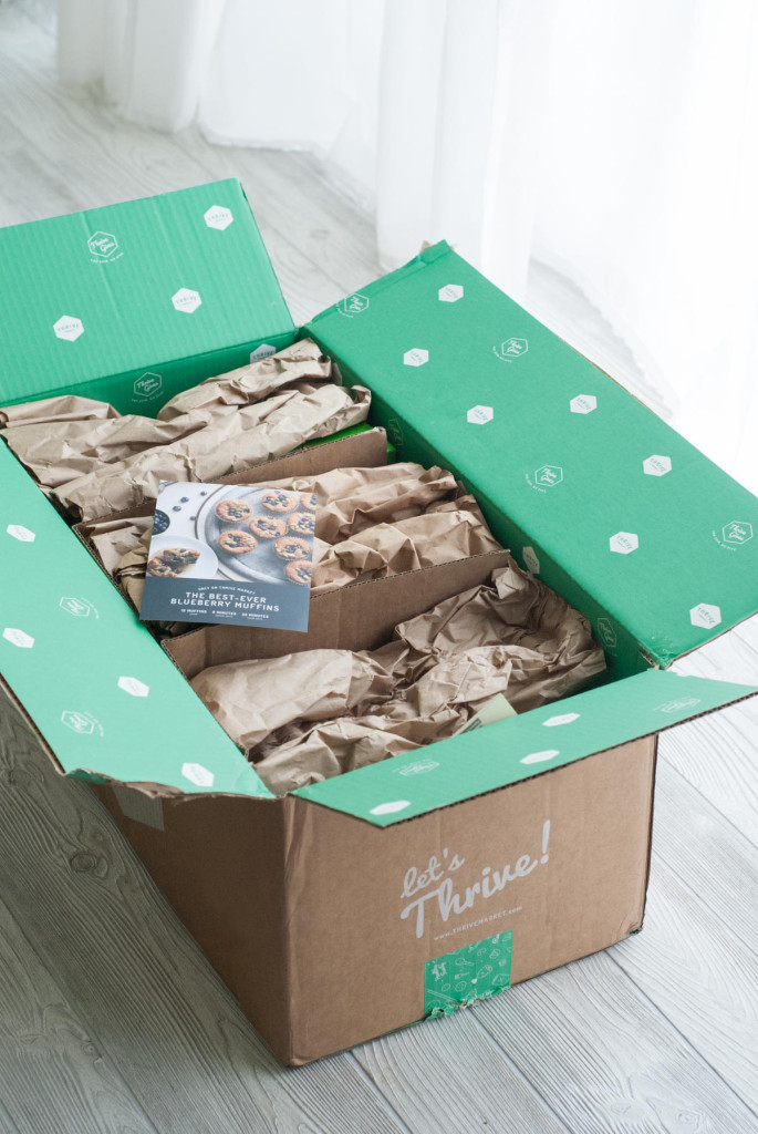 Thrive Market packages are always neatly packed and fun to open!