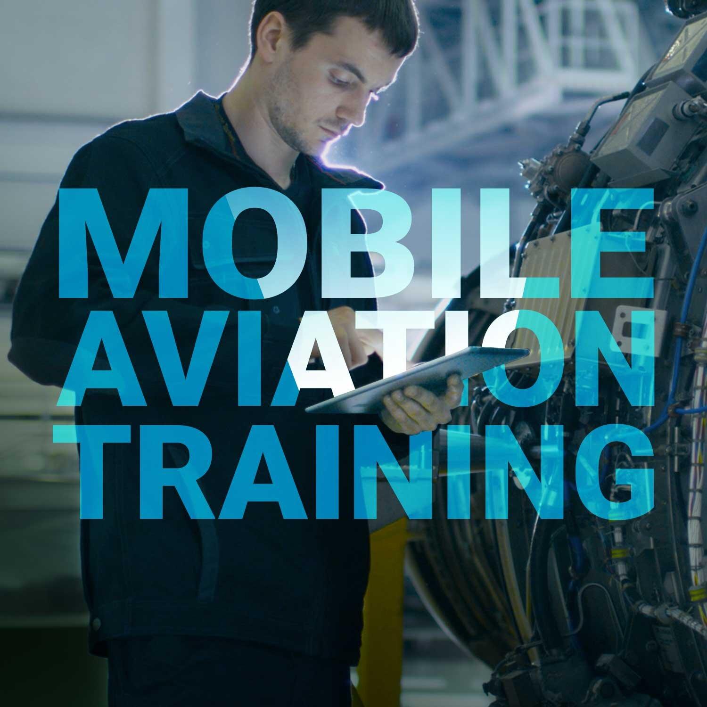 Fortune 500 aerospace client: Mobile aviation training