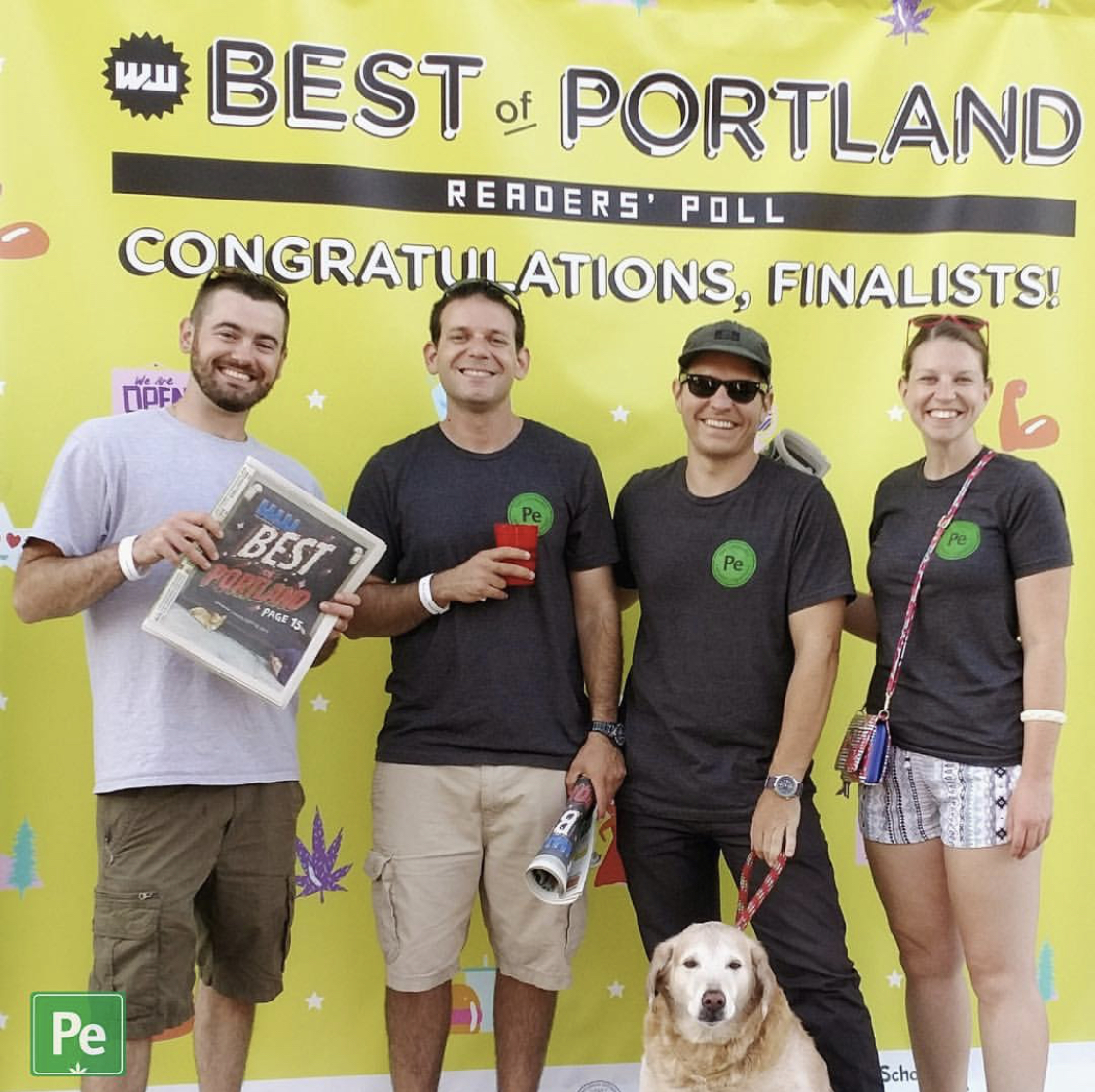 The Periodic edibles team takes 3rd place in the  Willamette Week's  Best of Portland Reader's Poll, 2017