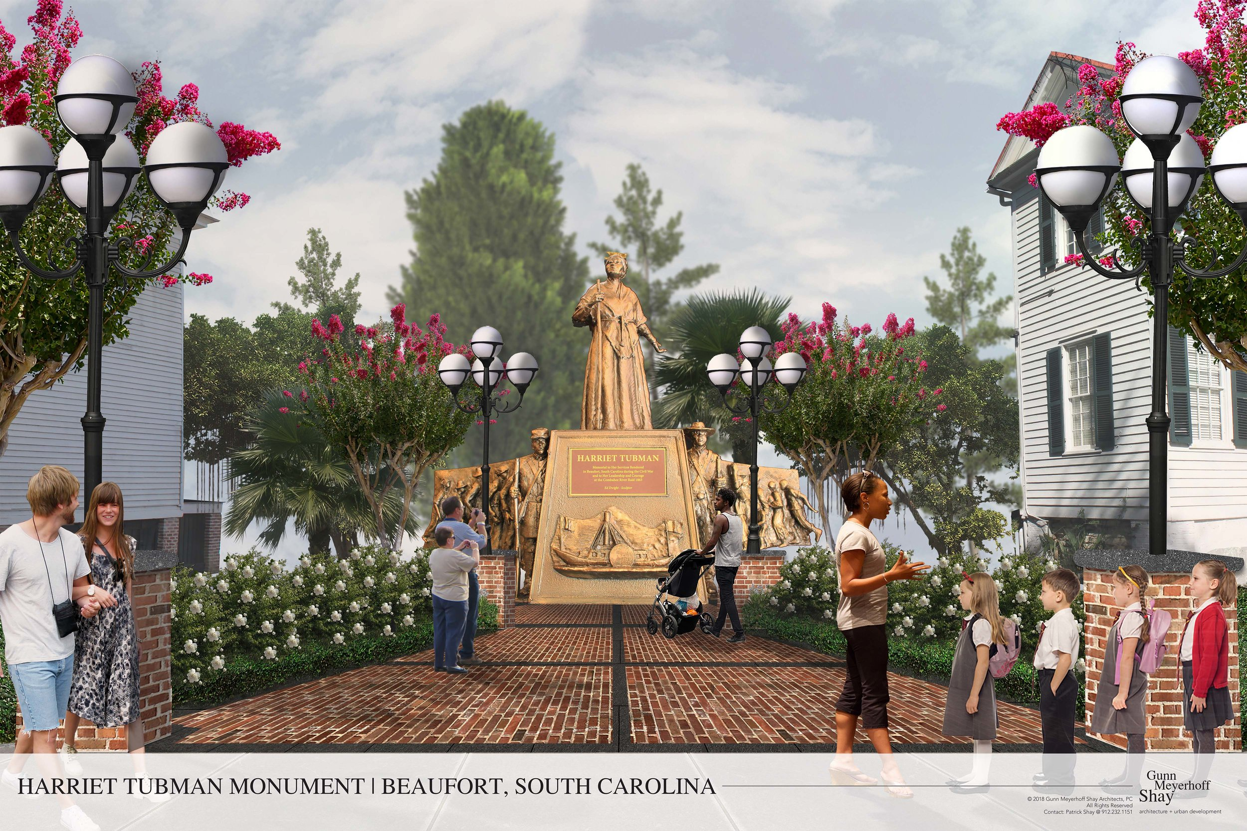Harriet Tubman Monument Rendering