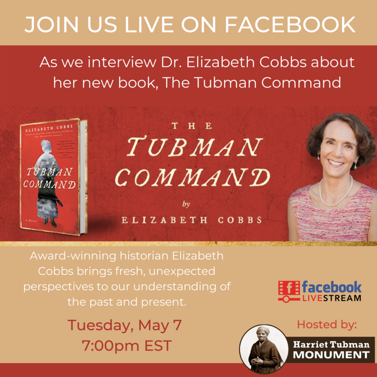 Click the image above to be taken to our Facebook page to view the interview with best selling author, Dr. Elizabeth Cobbs.