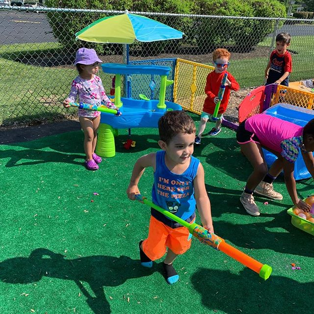 Water day fun with our summer campers!
