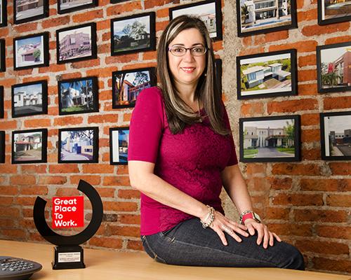 Ing. Eva María Rodríguez, Gerente Administrativa