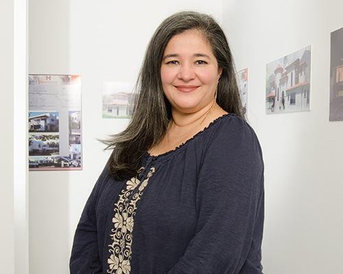 Ing. Johanna Monterrosa, Jefa de Departamento