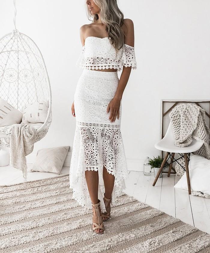 Lace Dream Skirt Set pre-order