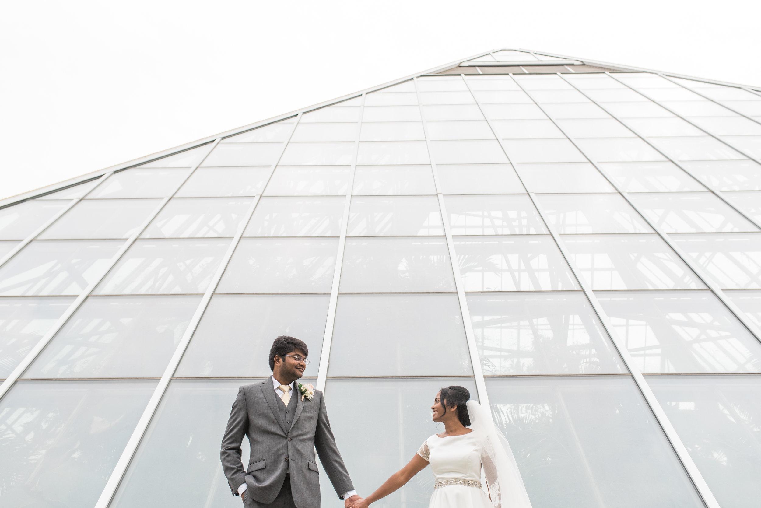 Edmonton Alberta | Wedding Photographer | Muttart Conservatory