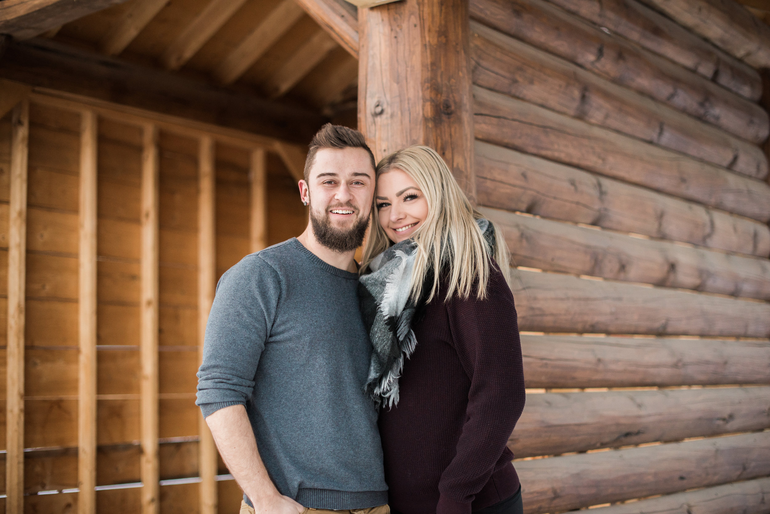 Winter Couples Photography Session | Edmonton Alberta | Rockwood Photography