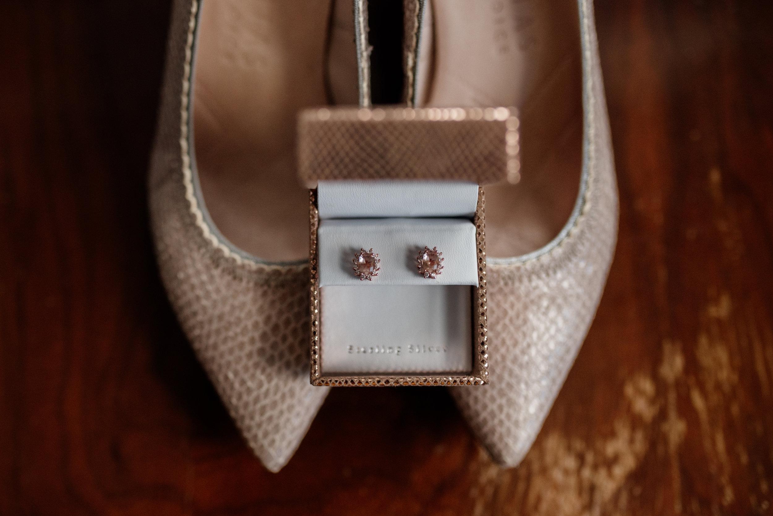 wedding shoes | Earrings | Edmonton