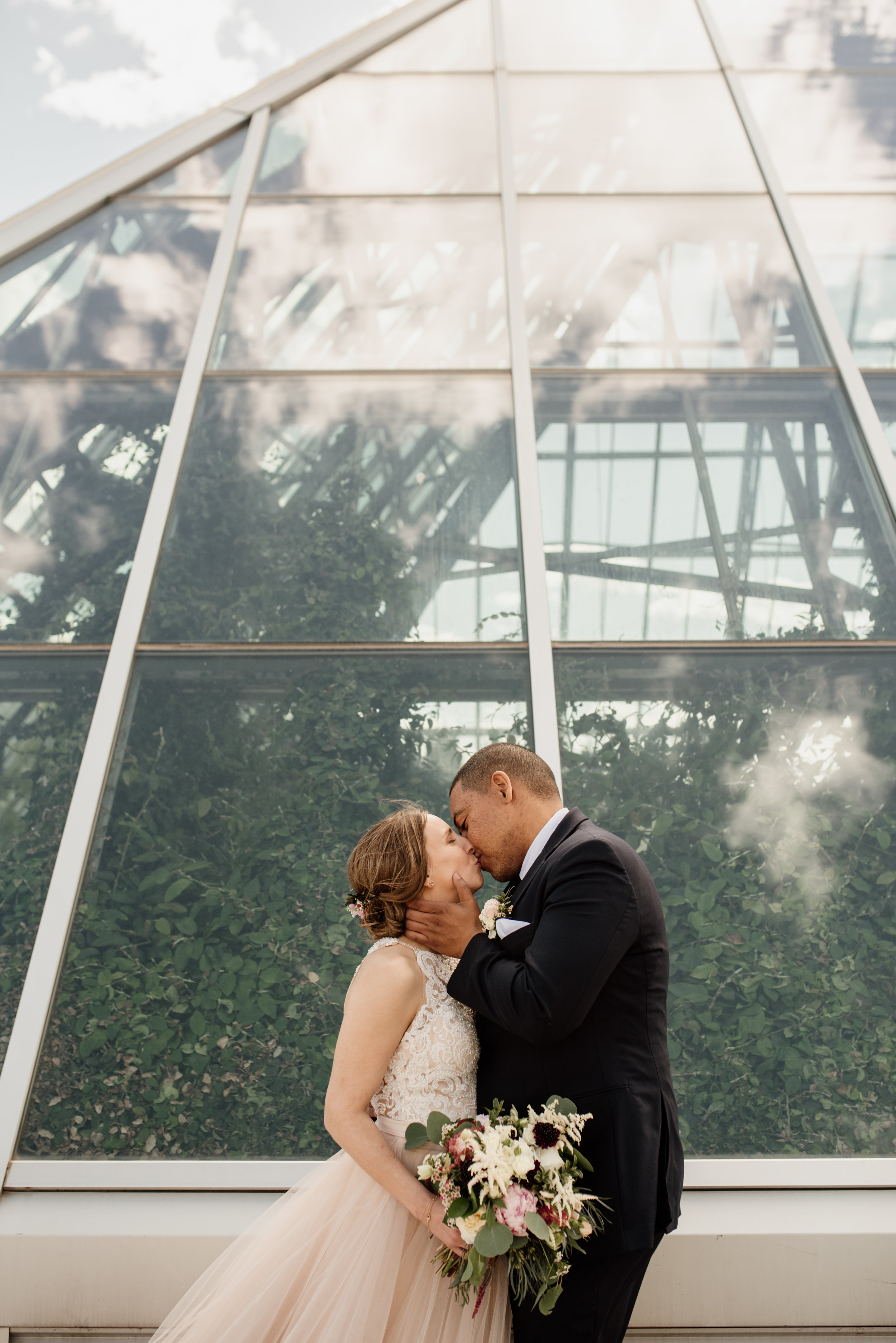 Muttart Conservatory | Edmonton Wedding Photographer | Rockwood Photography