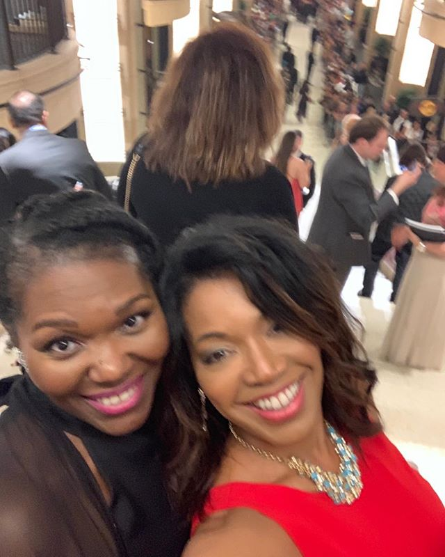 Me and @femicorazon - Dolby Theater, AFI Lifetime Achievement Awards for Denzel