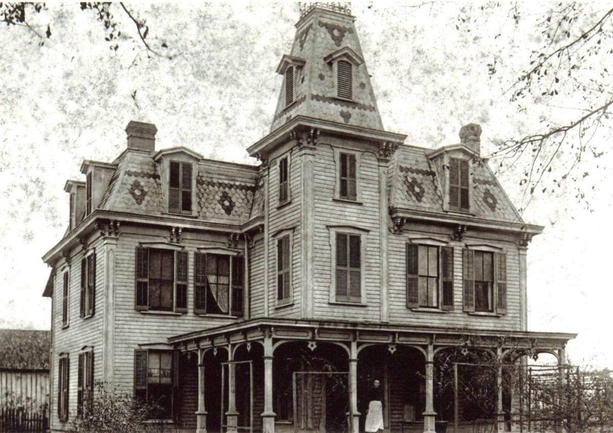 The Baird Mansion, pictured in 1896, was restored by Cindy and Joe Montalto. It became the Magnolia Plantation in 1991.  Courtesy to The Alligator