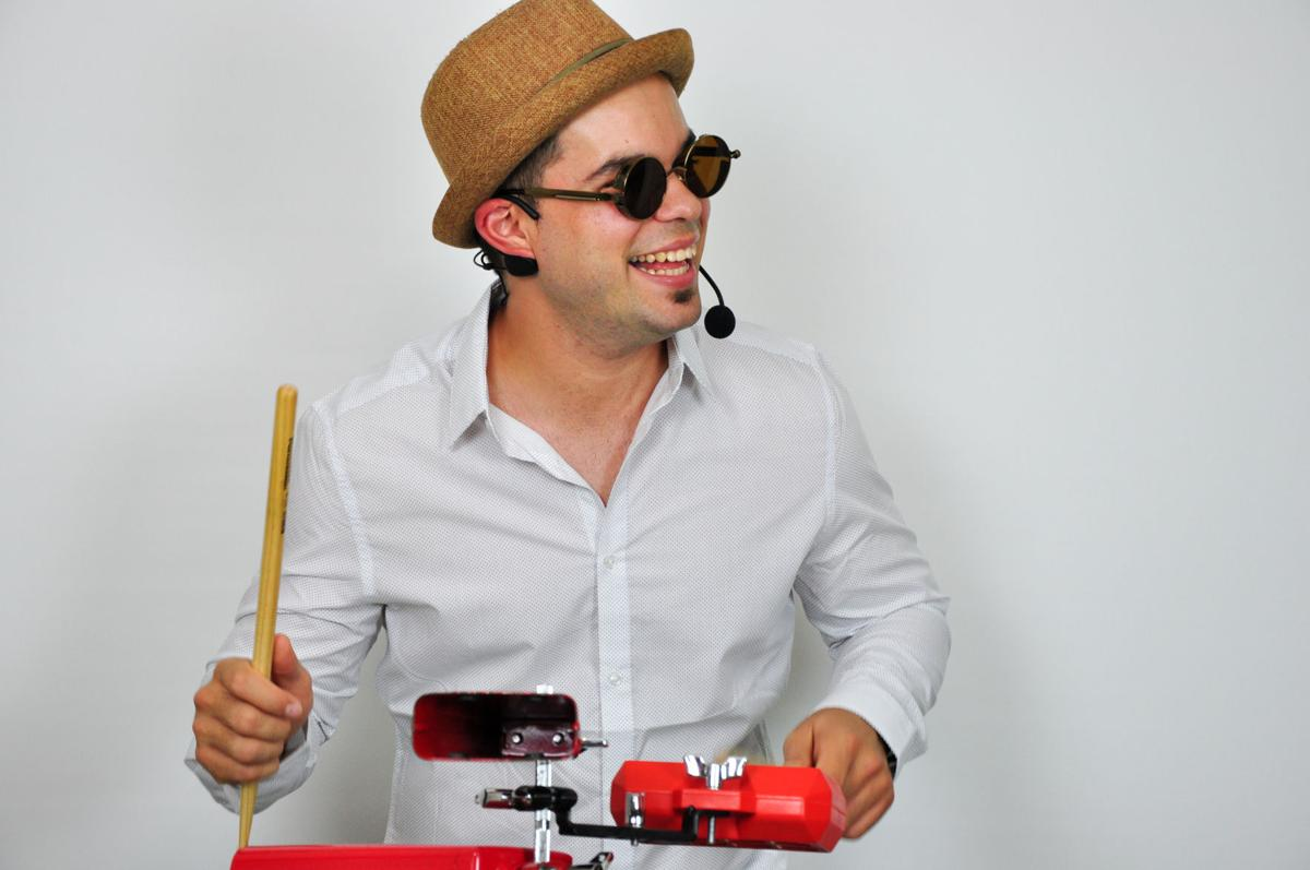 "Elio Piedra, 27, a Latin DJ in Gainesville, first learned how to play the drums in Cuba when he was in the fourth grade. He moved to the U.S. in 2010, when he was 19. ""For most, it's like two pieces of wood,"" he said. ""But for me, it's like extensions of my arms.""  Courtesy to The Alligator"