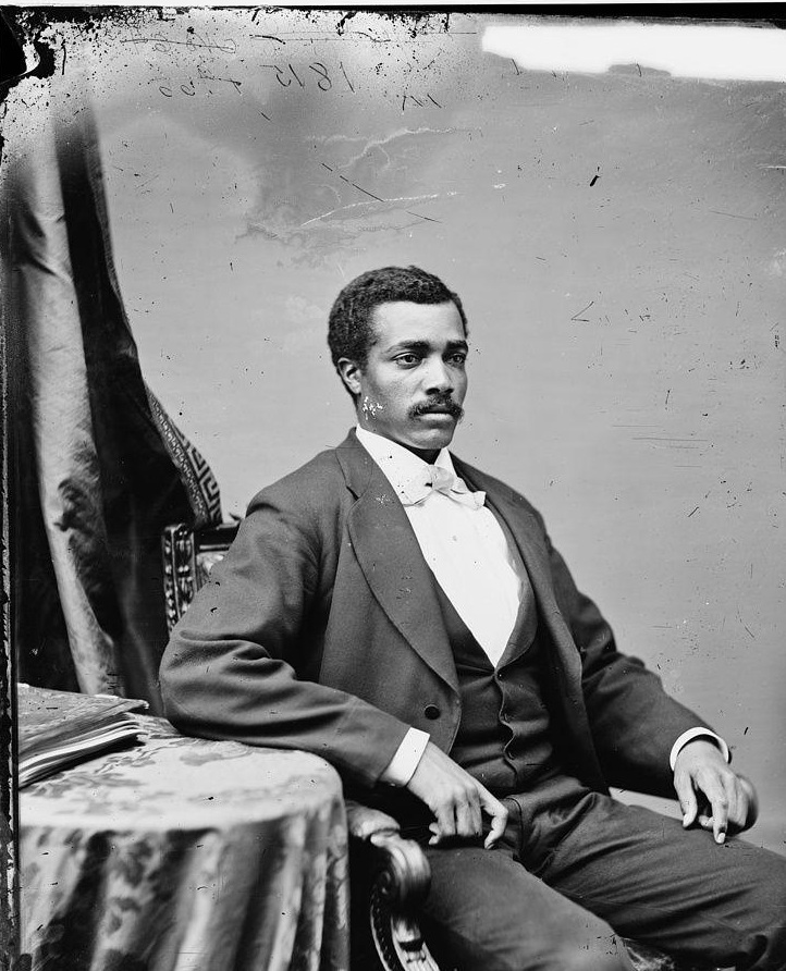 Josiah T. Walls, 1842-1905, was Florida's first African American representative. He is the only person in Alachua County's history to serve as the Gainesville mayor, a county commissioner, a school board member, a state senator and a U.S. congressman.   Library of Congress