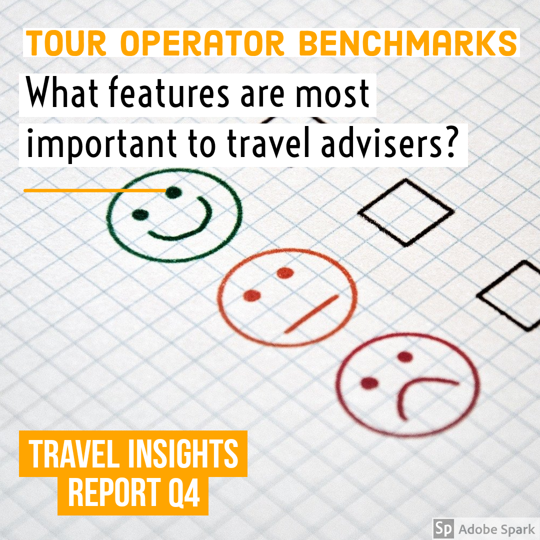 What travel advisers want from tour operators