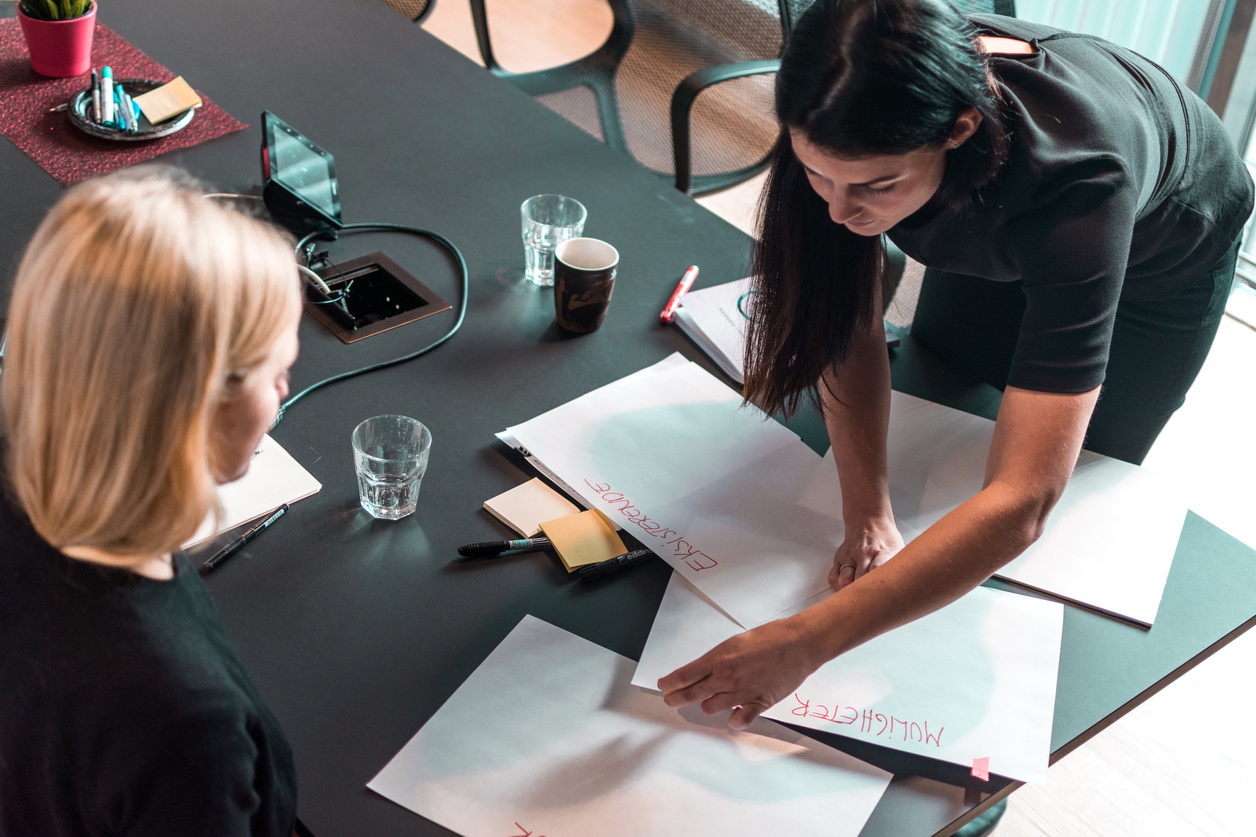 Ta kontakt - La oss bistå deg og teamet ditt med designdreven innovasjon.