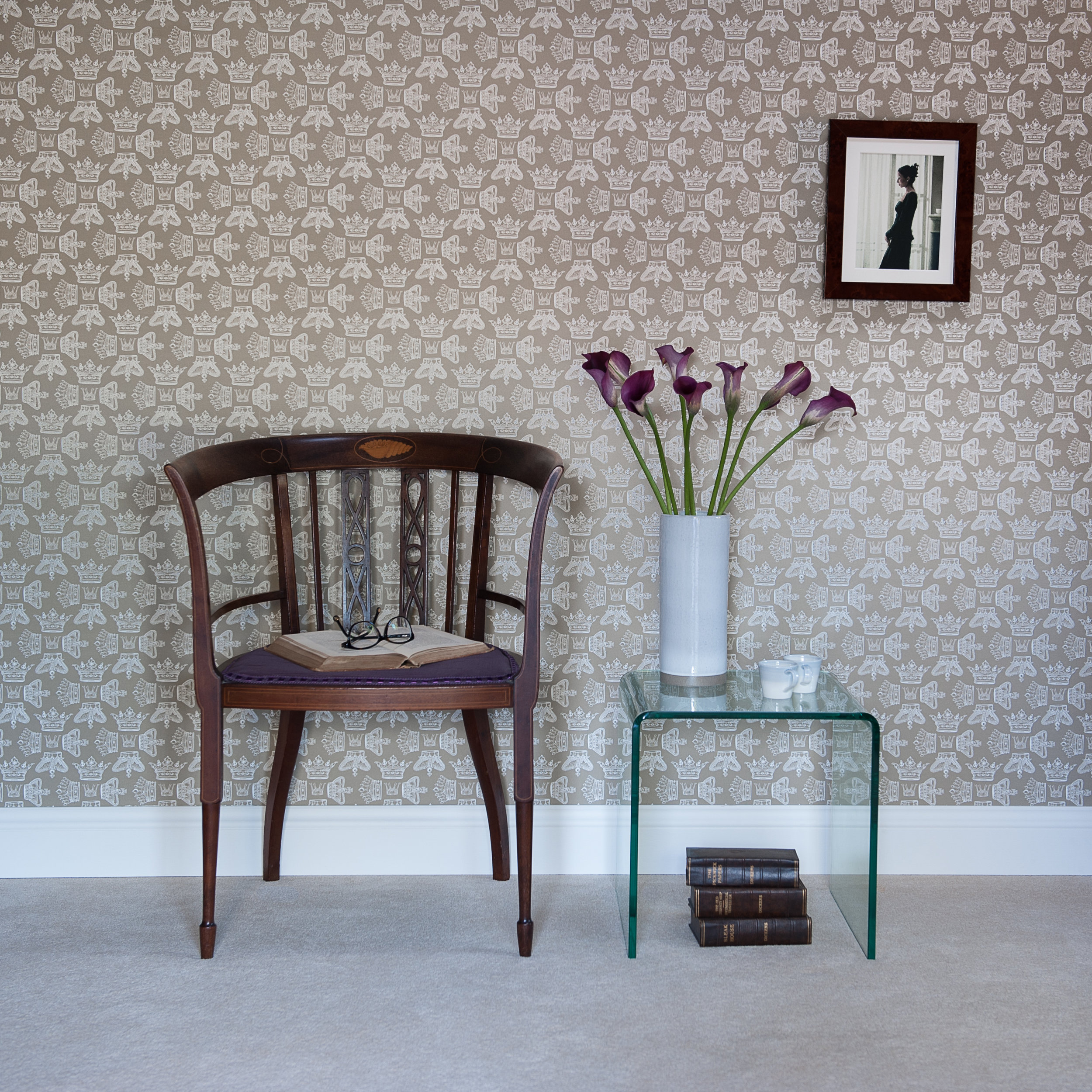 Regal Beauty wallpaper by Willis Bloom Square.jpg