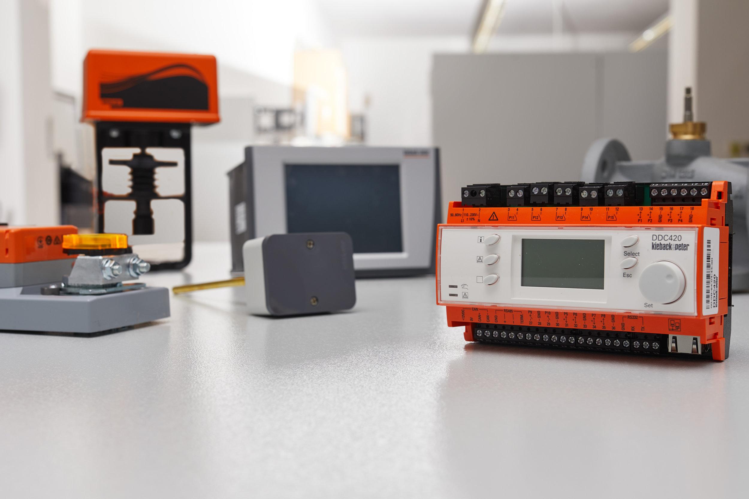 Regelungstechnik - Unser Komplettangebot für die Gebäudeautomation.