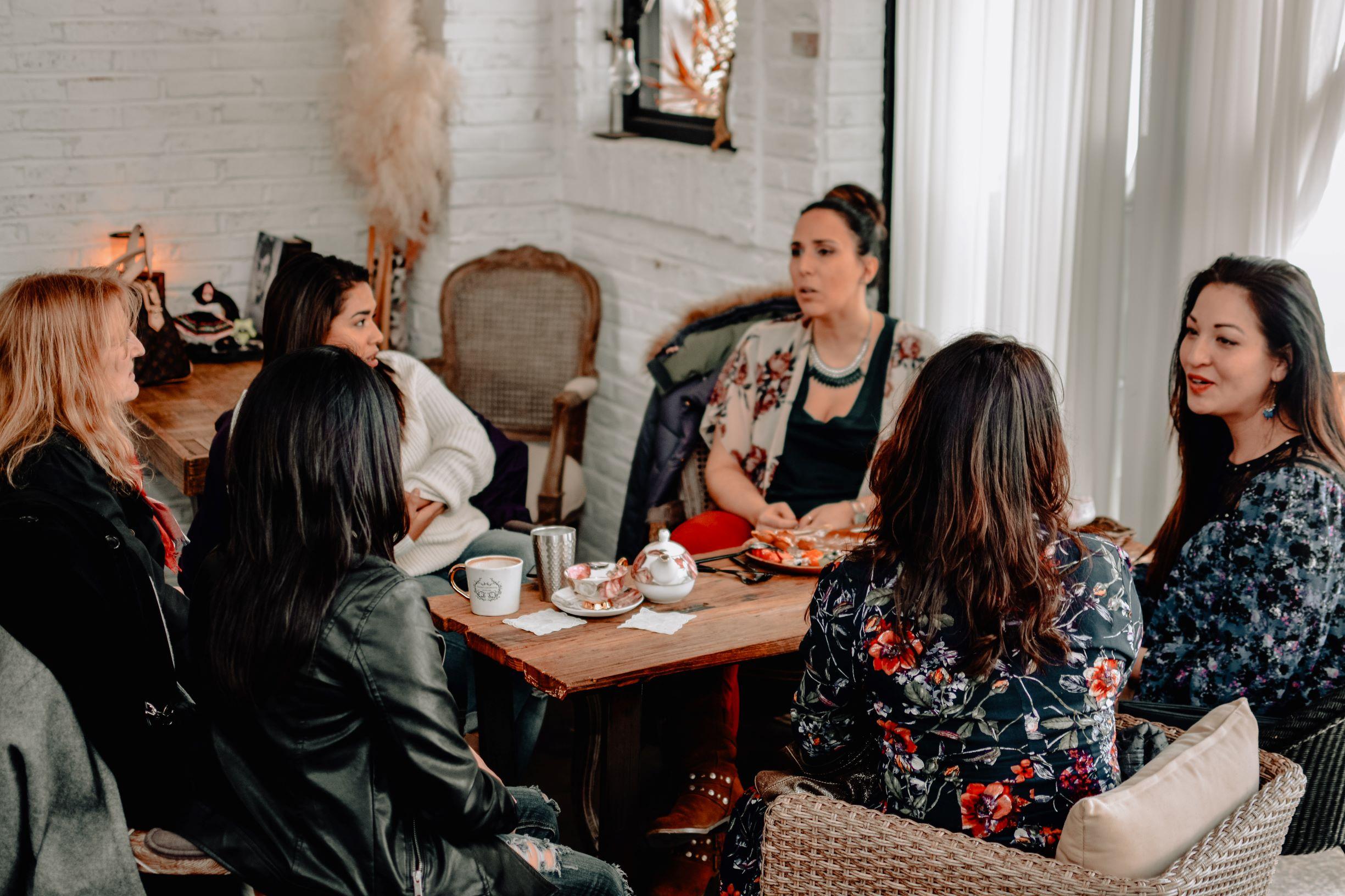 Gathering women
