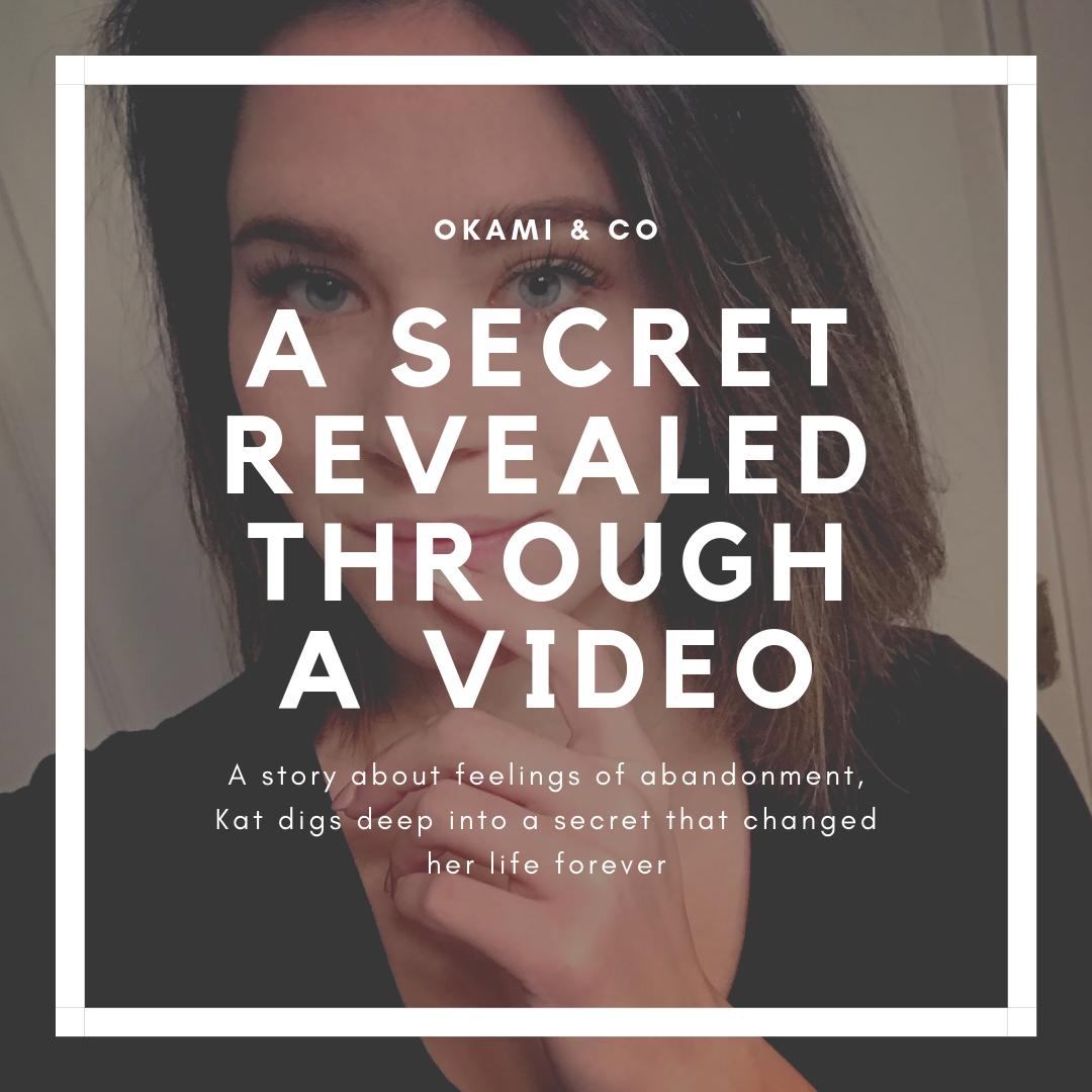 A secret revealed through a video