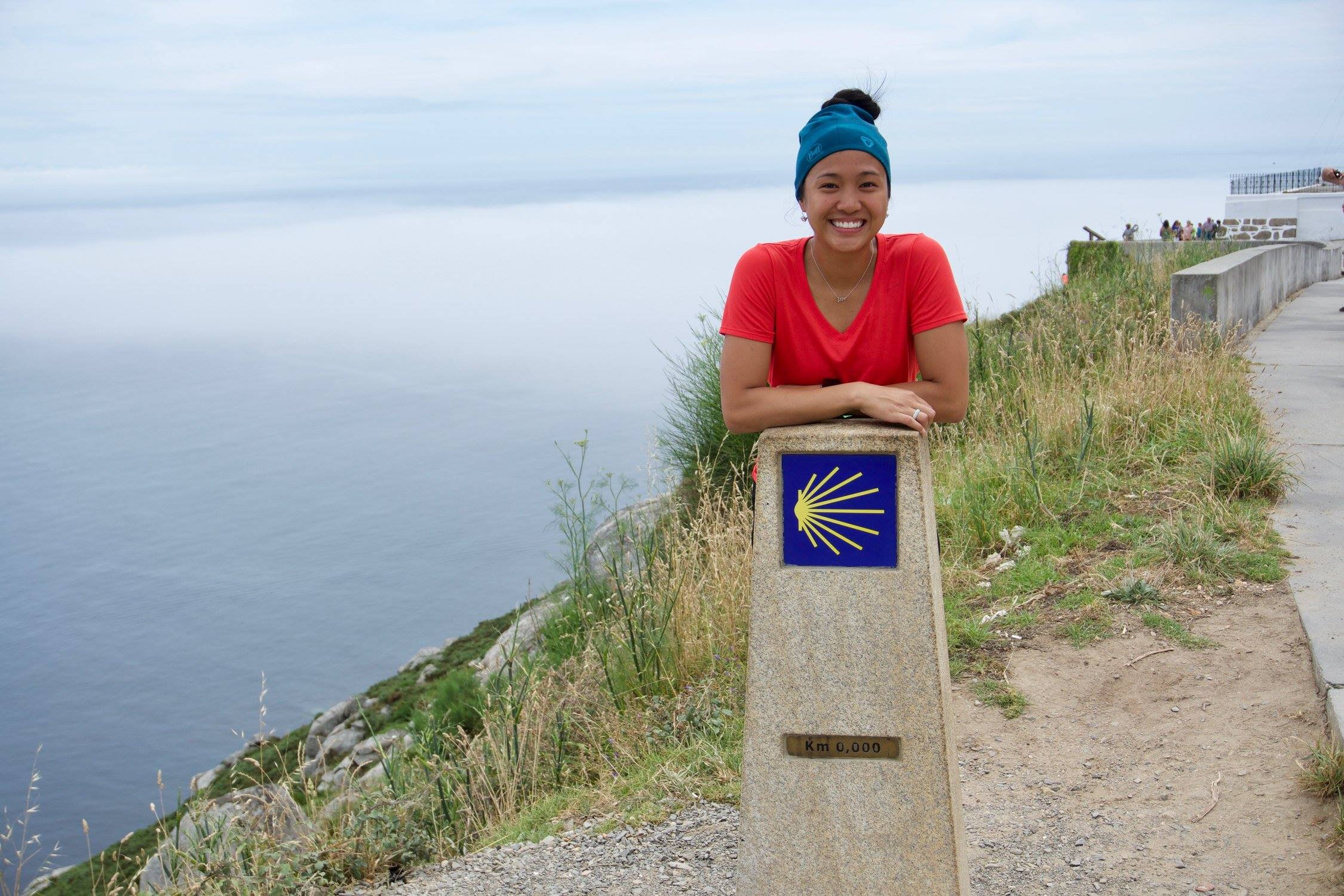 KM 0 at Finisterre