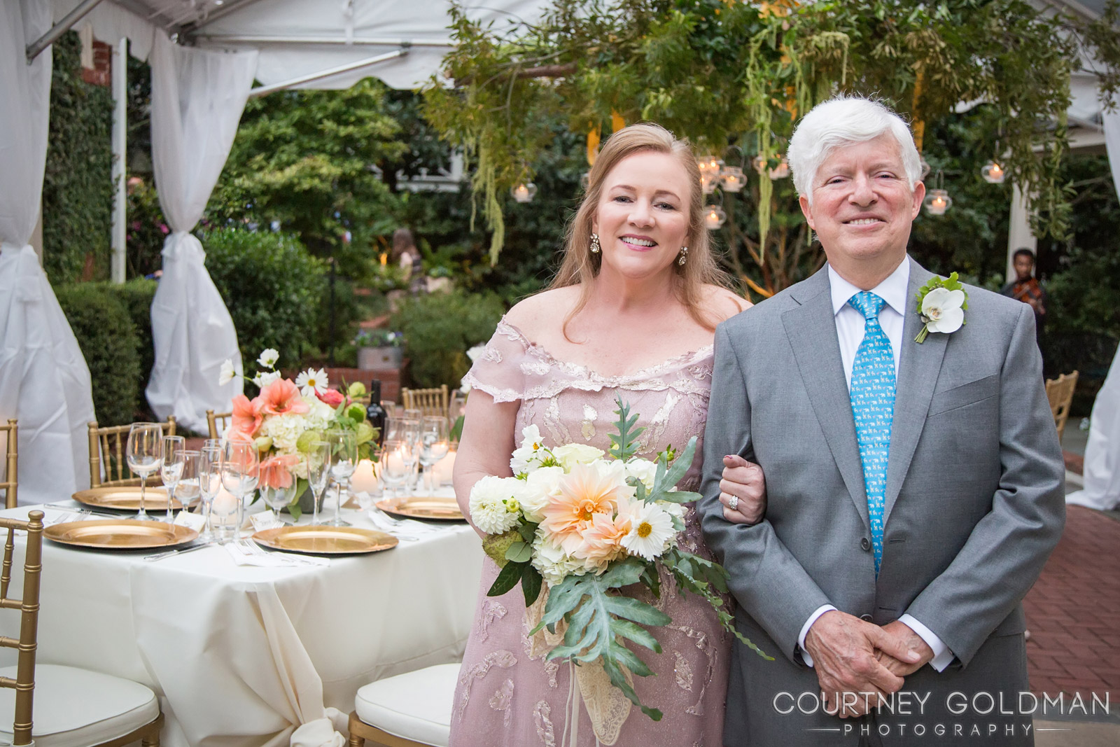 """easy to work with - """"The photos were great and I really appreciated the visit post wedding to have the opportunity to see the photos and order some. I know so many brides who years later don't have any photos to share. Courtney was easy to work with and very responsive.""""~ Anne & Bill"""