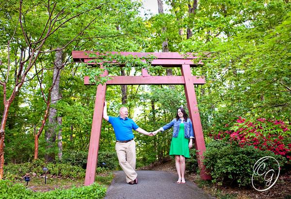 Athens Botanical Gardens Engagement