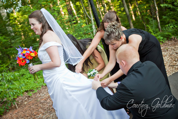 Wedding Athens Georgia Botanical Gardens Photography Courtney Goldman