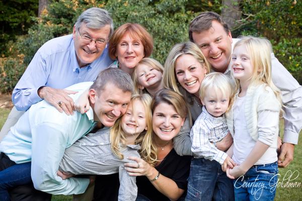 Atlanta Family Portrait Photography by Courtney Goldman