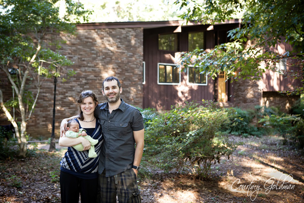 Athens Family and Newborn Portraits by Courtney Goldman Photography