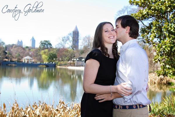 Atlanta Engagement Photography Piedmont Park