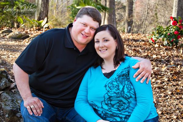 Athens Engagement Photography Botanical Garden Courtney Goldman