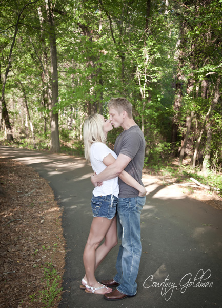 McDaniel Farm Park Duluth Engagement Session Courtney Goldman Photography
