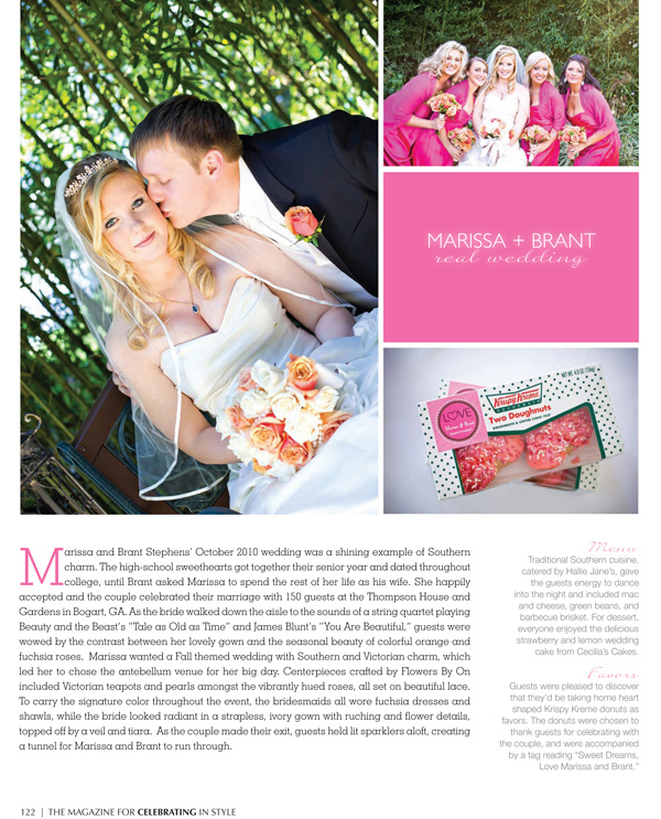 Real Wedding Athens Bogart Photography Occasions Magazine