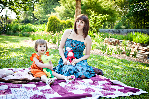 Children Family Photography Portrait Session Athens Botanical Garden Courtney Goldman