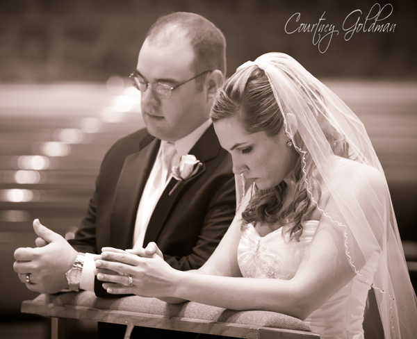 Wedding Atlanta All Saints Catholic Church Photography Courtney Goldman