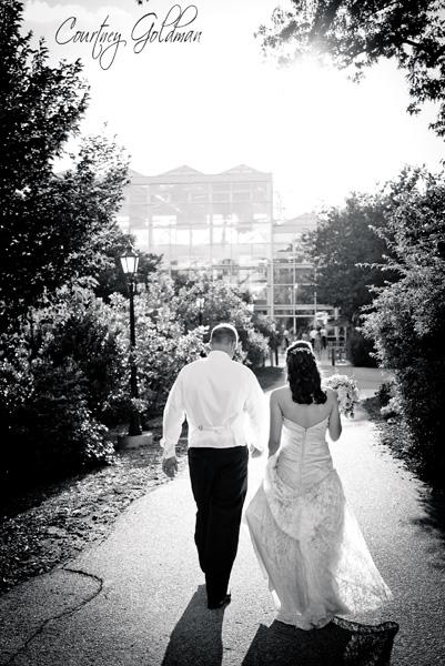 Athens Georgia State Botanical Gardens Wedding by Courtney Goldman Photography