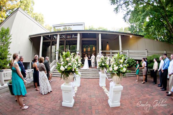 calloway building athens botanical garden wedding photography courtney goldman