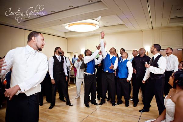 Wedding Reception The Westin Atlanta Airport Courtney Goldman Photography