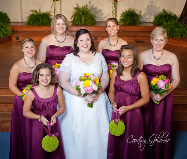 Watkinsville Georgia First Baptist Church Wedding Georgian Trumps Downtown Athens Reception Courtney Goldman Photography