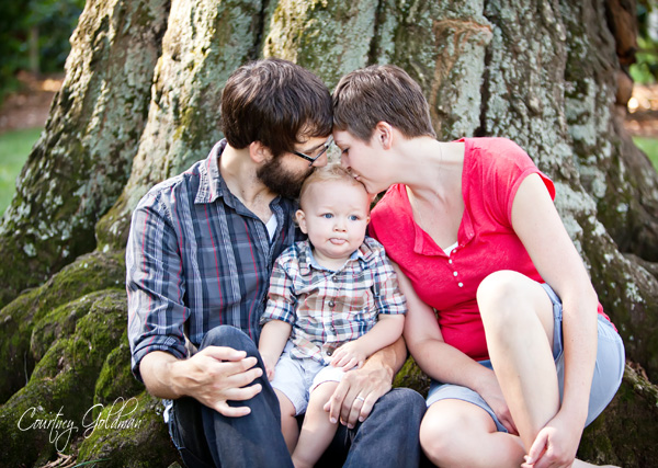 Family Children Portraits Downtown Athens Georgia Courtney Goldman Photography