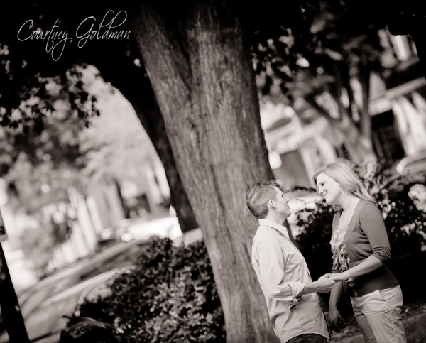 Downtown Athens Georgia Engagement Session Courtney Goldman Photography